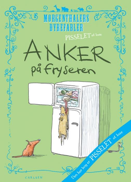 Image of Pisselet at læse: Anker på fryseren (E-bog)