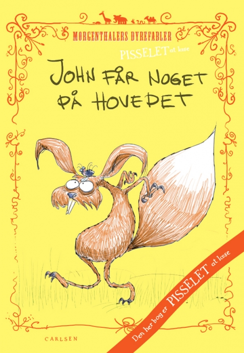 Image of Pisselet at læse: John får noget på hovedet! (E-bog)