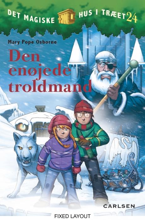 mary pope osborne – Det magiske hus i træet 24: den enøjede troldmand (e-bog) på bogreolen.dk