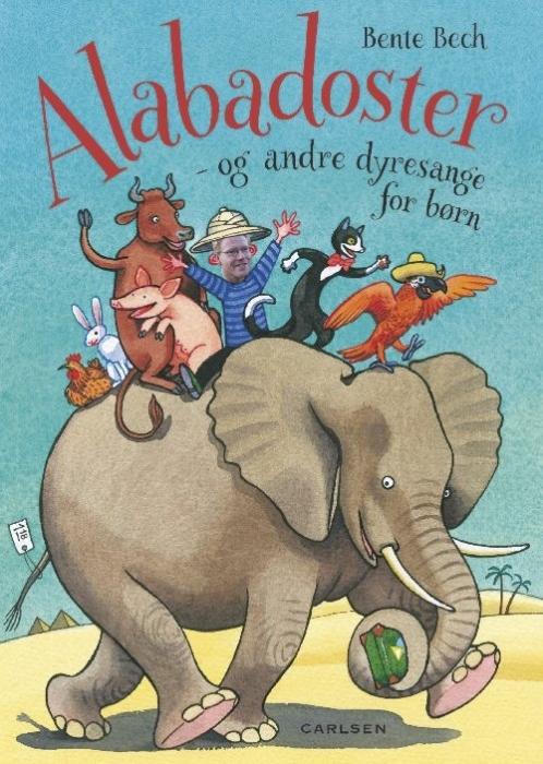 Alabadoster - og andre dyresange for børn (Lydbog)
