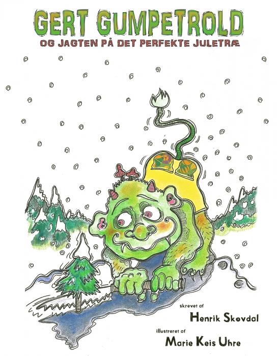 Billede af Gert Gumpetrold og jagten på det perfekte juletræ (E-bog)