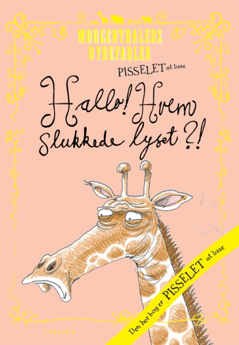 Image of Pisselet at læse: Hallo?! Hvem slukkede lyset? (E-bog)