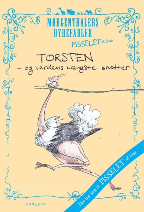 Image of Pisselet at læse: Torsten og verdens længste snotter (E-bog)