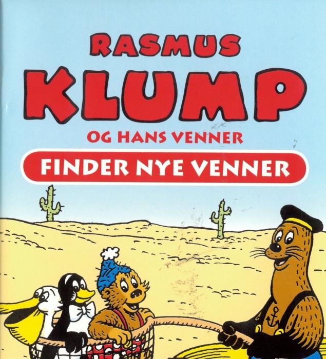 per sanderhage Rasmus klump og hans venner - finder nye venner (lydbog) på bogreolen.dk