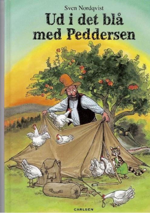 sven nordqvist Ud i det blå med peddersen (lydbog) på bogreolen.dk