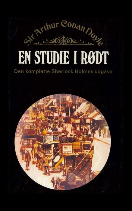 sir arthur conan doyle – En studie i rødt (e-bog) på bogreolen.dk