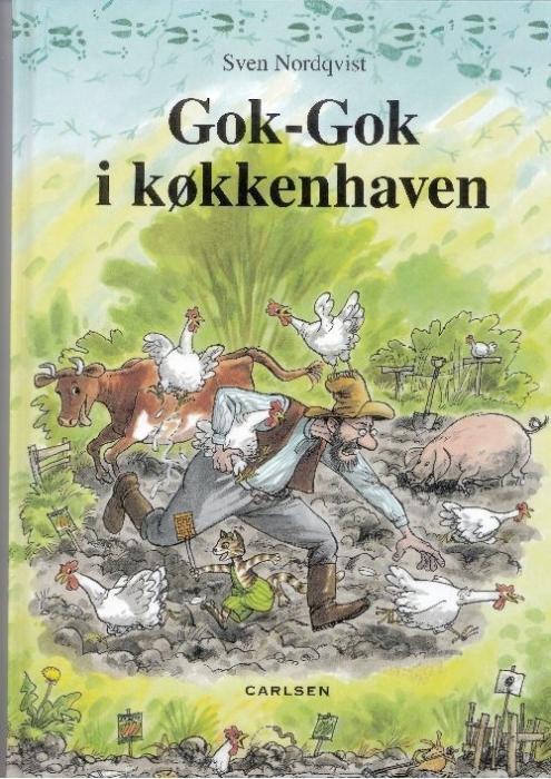 sven nordqvist – Gok-gok i køkkenhaven (lydbog) på bogreolen.dk