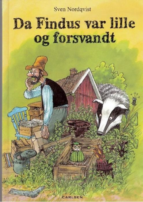 sven nordqvist Da findus var lille og forsvandt (lydbog) på bogreolen.dk