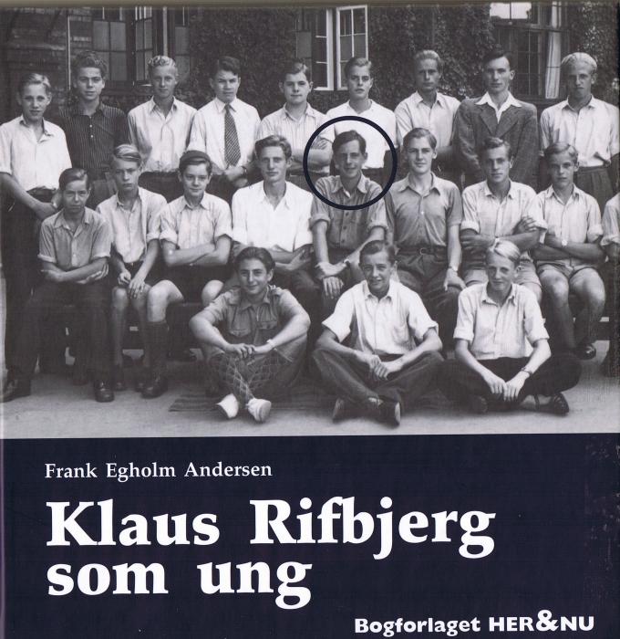 frank egholm andersen Klaus rifbjerg som ung (e-bog) på bogreolen.dk