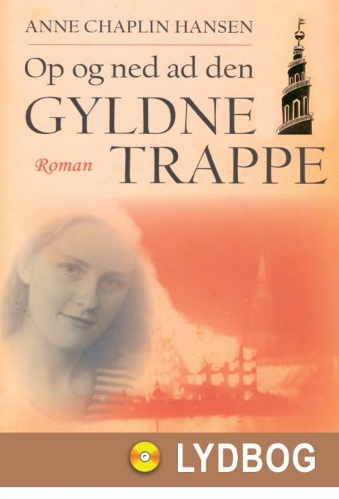 Image of Op og ned ad den gyldne trappe (Lydbog)