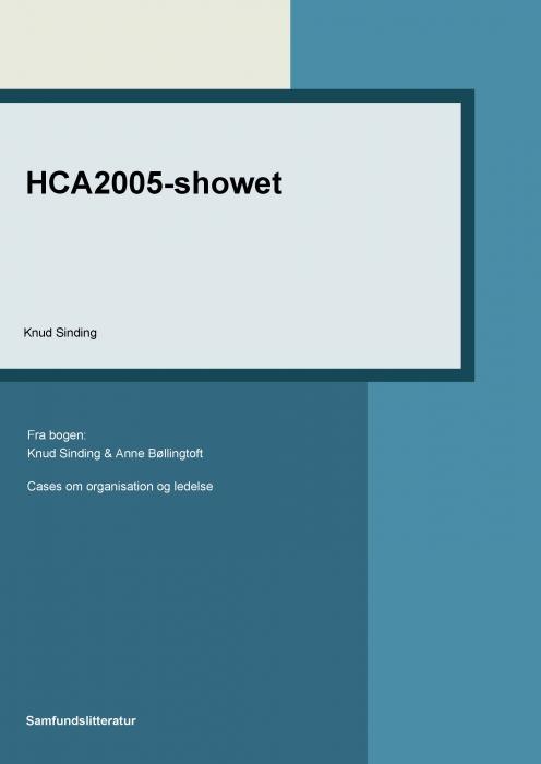 knud sinding hca2005-showet (e-bog)
