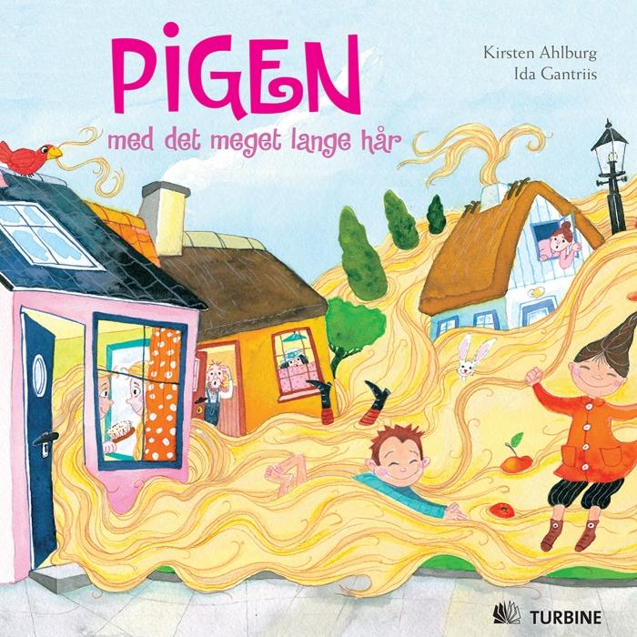 Pigen med det meget lange hår (e-bog) fra kirsten ahlburg fra bogreolen.dk