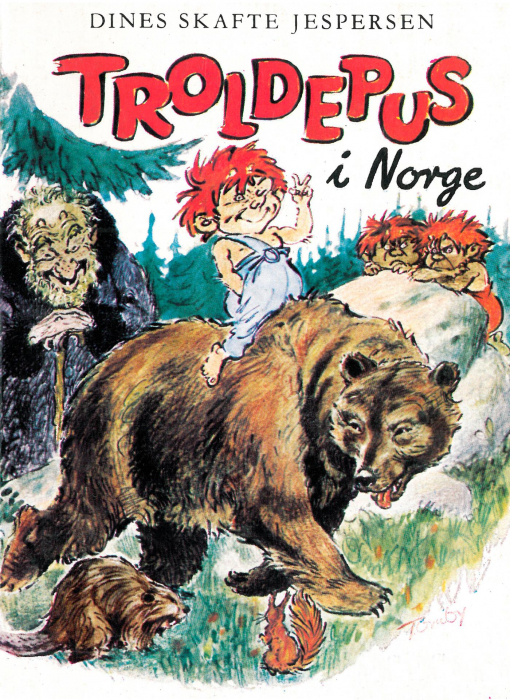 dines skafte jespersen troldepus i norge (e-bog)
