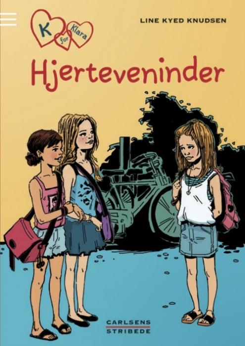 line kyed knudsen – K for klara 1: hjerteveninder (lydbog) fra bogreolen.dk