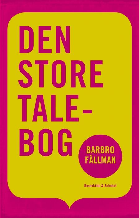 Image of Den store talebog (E-bog)