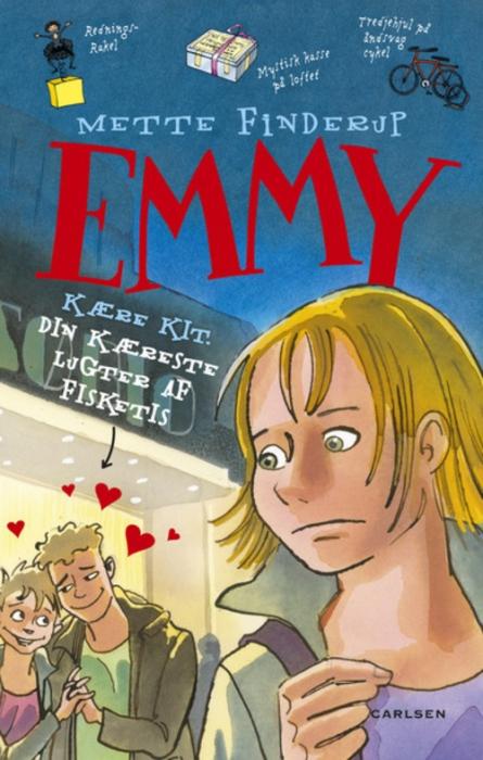 mette finderup – Emmy 8 - kære kit. din kæreste lugter af fisketis (lydbog) fra tales.dk