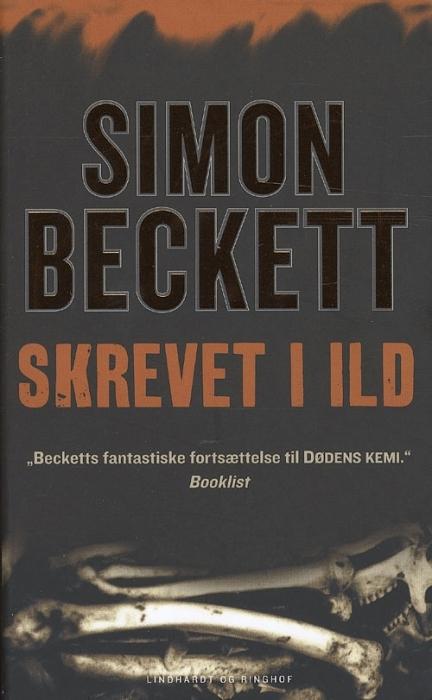 simon beckett Skrevet i ild (lydbog) på bogreolen.dk