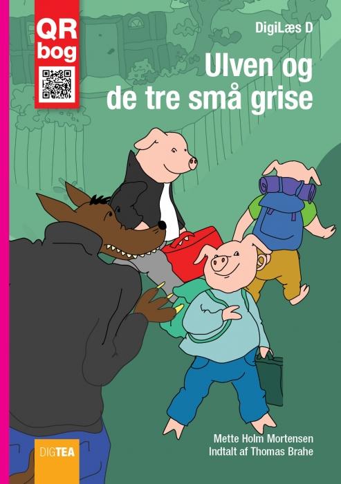 Ulven og de tre små grise (e-bog) fra mette holm mortensen fra bogreolen.dk
