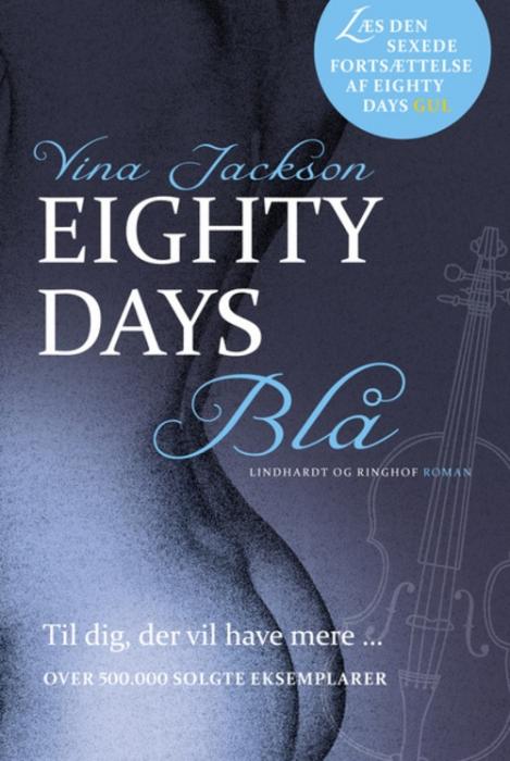 vina jackson Eighty days - blå (lydbog) på bogreolen.dk