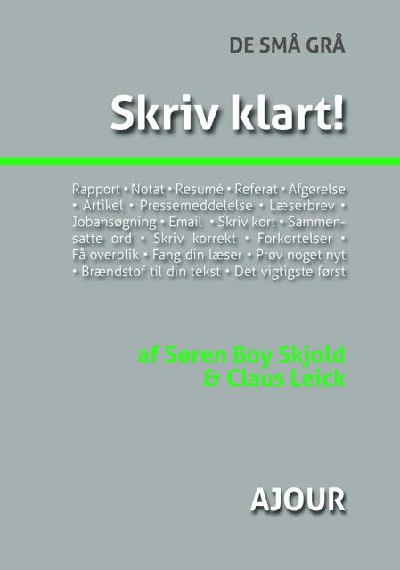 Image of   Skriv klart! (E-bog)