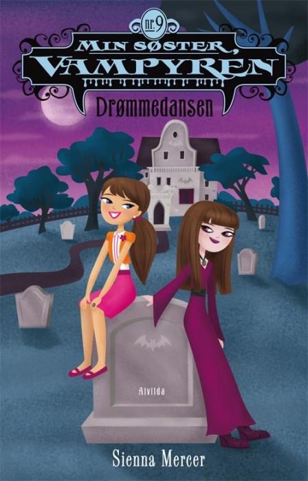 sienna mercer – Min søster, vampyren 9: drømmedansen (e-bog) på bogreolen.dk
