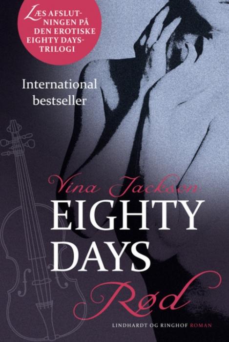 vina jackson – Eighty days - rød (lydbog) fra bogreolen.dk
