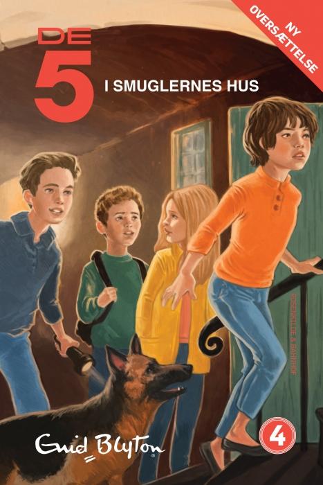 enid blyton De 5 i smuglernes hus (e-bog) fra bogreolen.dk