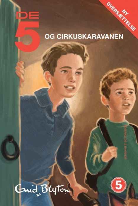 De 5 og cirkuskaravanen (e-bog) fra enid blyton fra bogreolen.dk