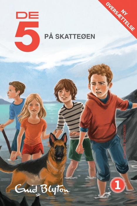 enid blyton De 5 på skatteøen (e-bog) på bogreolen.dk