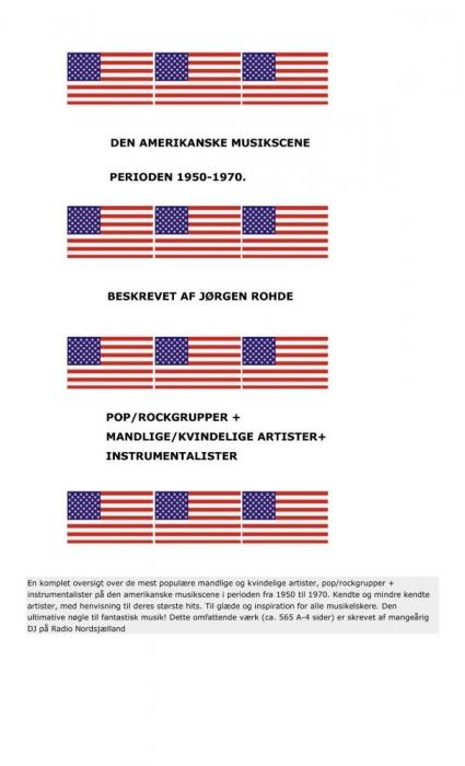 Image of   Amerikansk musikscene 1950-1970 (E-bog)