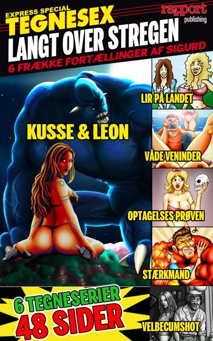 sigurd for rapport – Erotik og sex: tegnesex - langt over stregen (e-bog) på bogreolen.dk