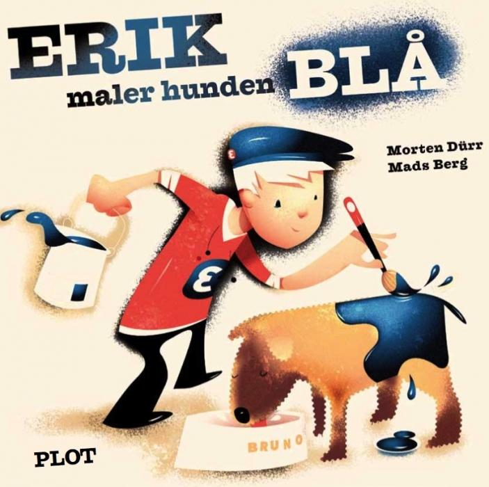 morten dürr Erik maler hunden blå (e-bog) på bogreolen.dk