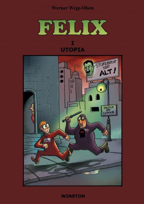 Felix i utopia (e-bog) fra werner wejp-olsen fra tales.dk
