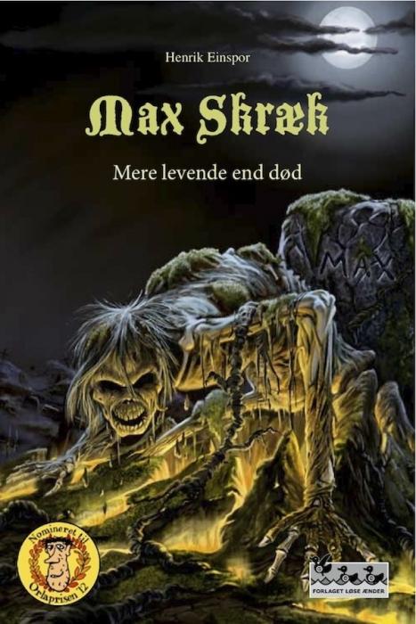 Max Skræk - Mere levende end død (E-bog)