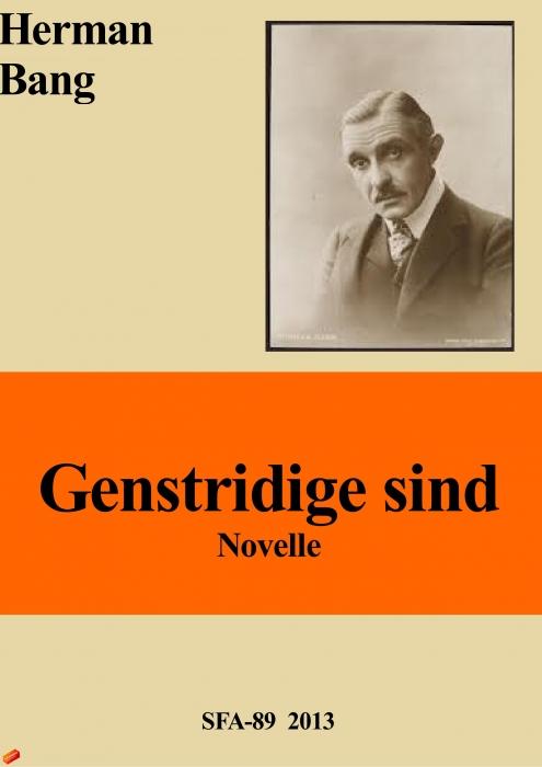 herman bang – Genstridige sind (e-bog) fra bogreolen.dk
