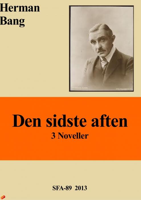 Den sidste aften (e-bog) fra herman bang fra tales.dk