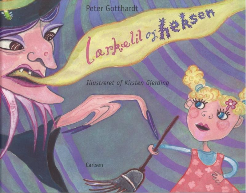 peter gotthardt Lærkelil og heksen (lydbog) på bogreolen.dk