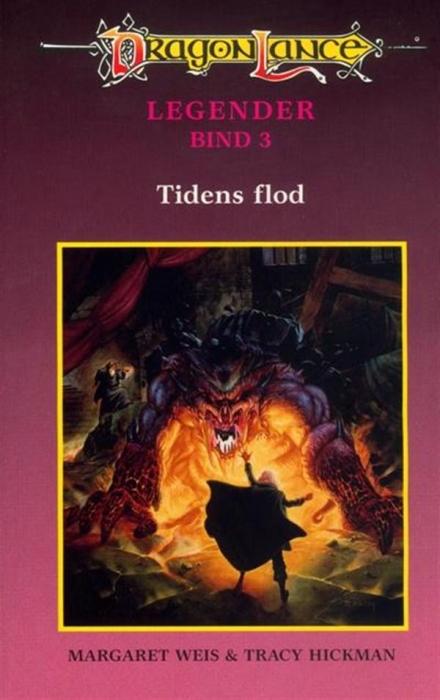 Dragonlance legender #3: tidens flod (lydbog) fra margaret weis på bogreolen.dk