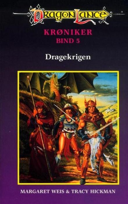 Dragonlance krøniker #5: dragekrigen (lydbog) fra margaret weis på bogreolen.dk