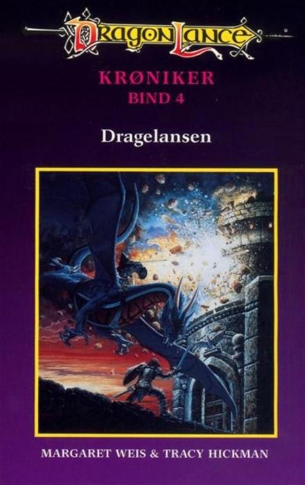 Dragonlance krøniker #4: dragelansen (lydbog) fra margaret weis fra tales.dk