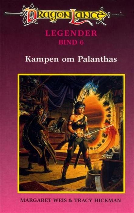 Dragonlance legender #6: kampen om palanthas (lydbog) fra margaret weis fra tales.dk