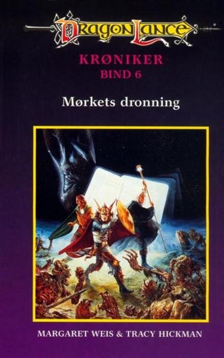 margaret weis Dragonlance krøniker #6: mørkets dronning (lydbog) fra bogreolen.dk