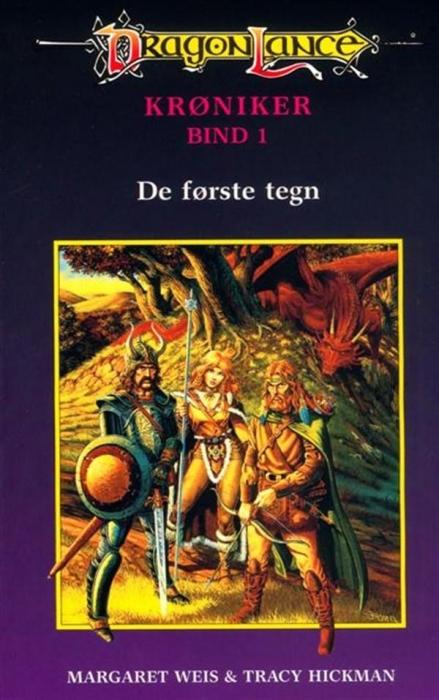 margaret weis – Dragonlance krøniker #1: de første tegn (lydbog) fra bogreolen.dk