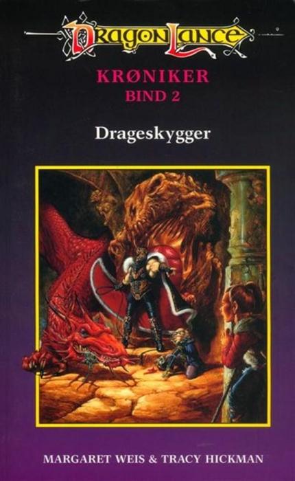 Dragonlance krøniker #2: drageskygger (lydbog) fra margaret weis fra bogreolen.dk