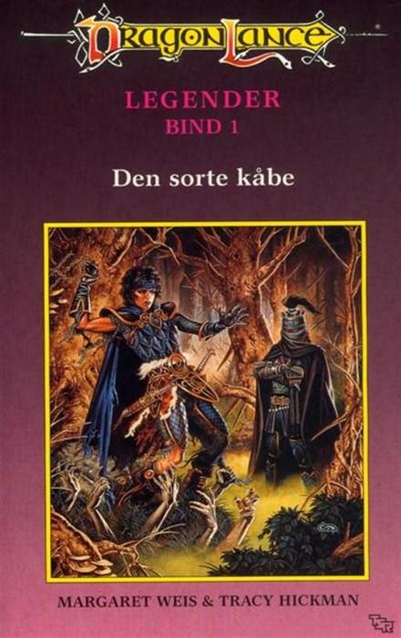 margaret weis Dragonlance legender #1: den sorte kåbe (lydbog) på bogreolen.dk