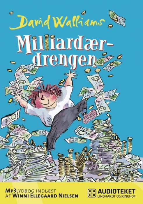 Image of   Milliardærdrengen (Lydbog)