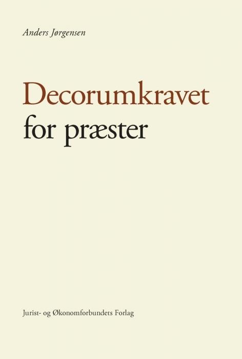 Image of Decorumkravet for præster (E-bog)