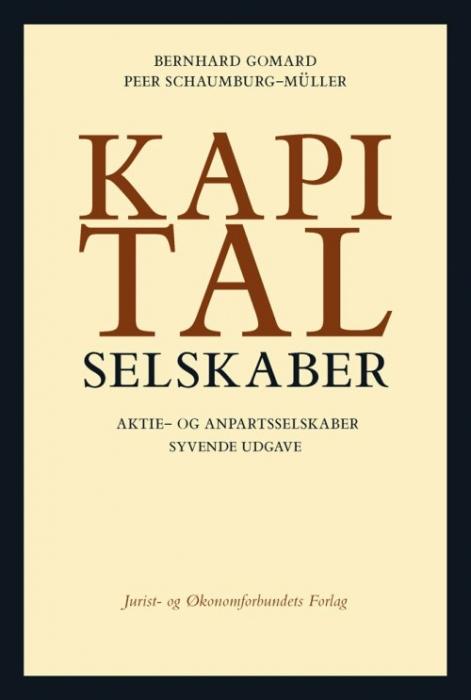 peer schaumburg-müller – Kapitalselskaber (e-bog) fra bogreolen.dk