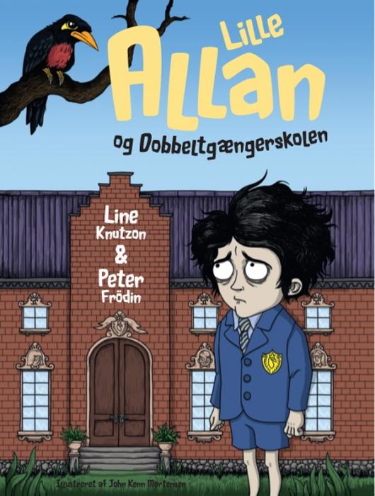 Lille allan og dobbeltgængerskolen (e-bog) fra line knutzon fra bogreolen.dk