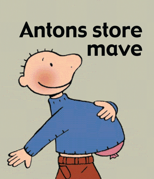 Image of Antons store mave (E-bog)